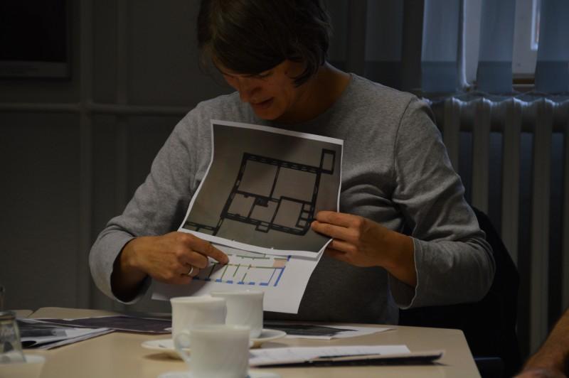 Pläne: Abweichungen und Übereinstimmungen, Foto: Stefan Wilbricht/GWF