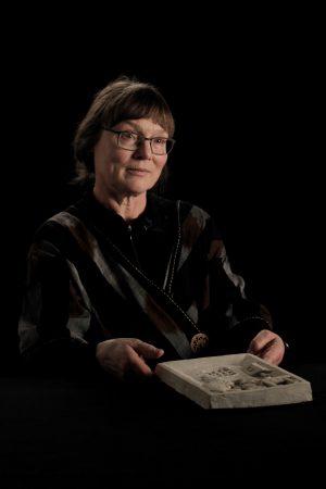 Grete Refsum, Februar 2018, Gedenkstätte in der JVA Wolfenbüttel / Olaf Markmann