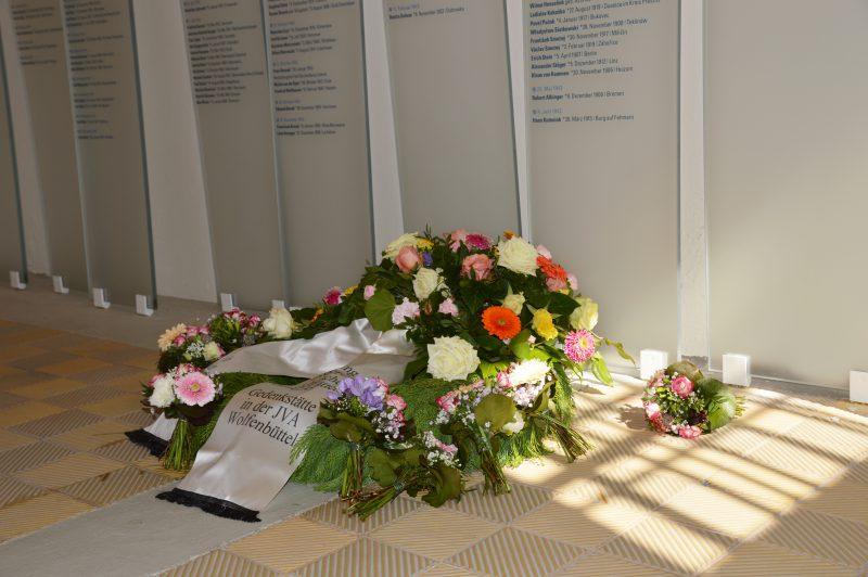 Foto: Gedenkstätte in der JVA Wolfenbüttel
